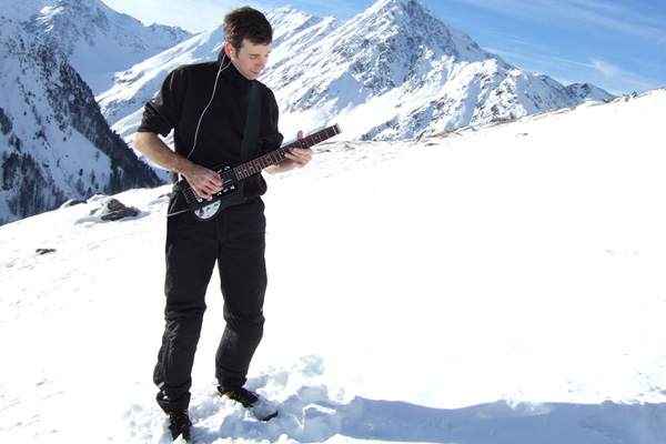 Mit Traveler Guitar in Tirol